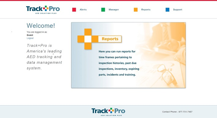 Track+Pro Data Management